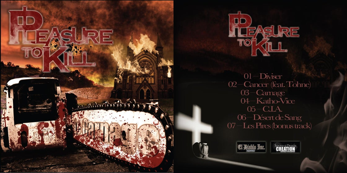 """Image of EP """"Le Carnage"""""""