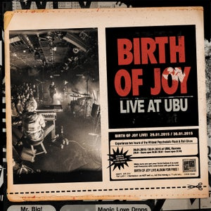 "Image of Birth Of Joy ""Live At Ubu"" LP"