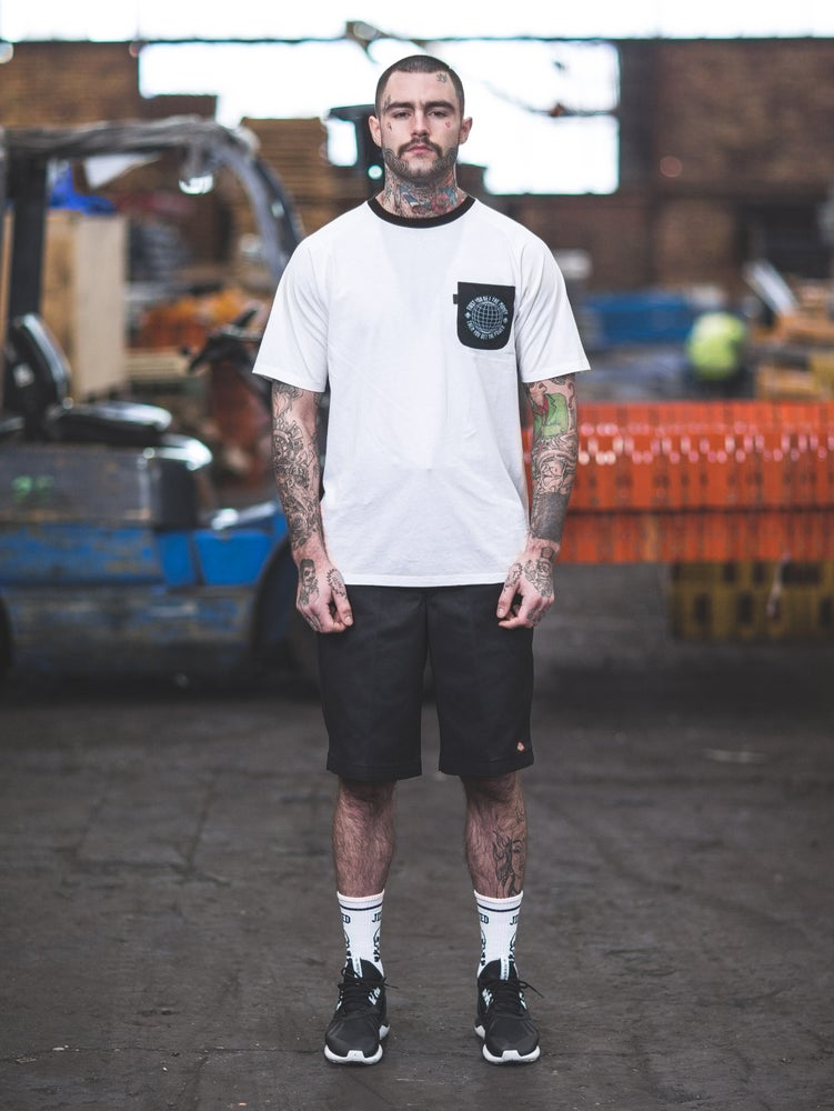 Image of RUN THINGS pocket tee