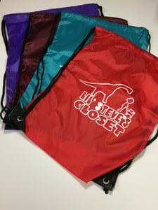 Image of Lil Steve's Closet Drawstring bag