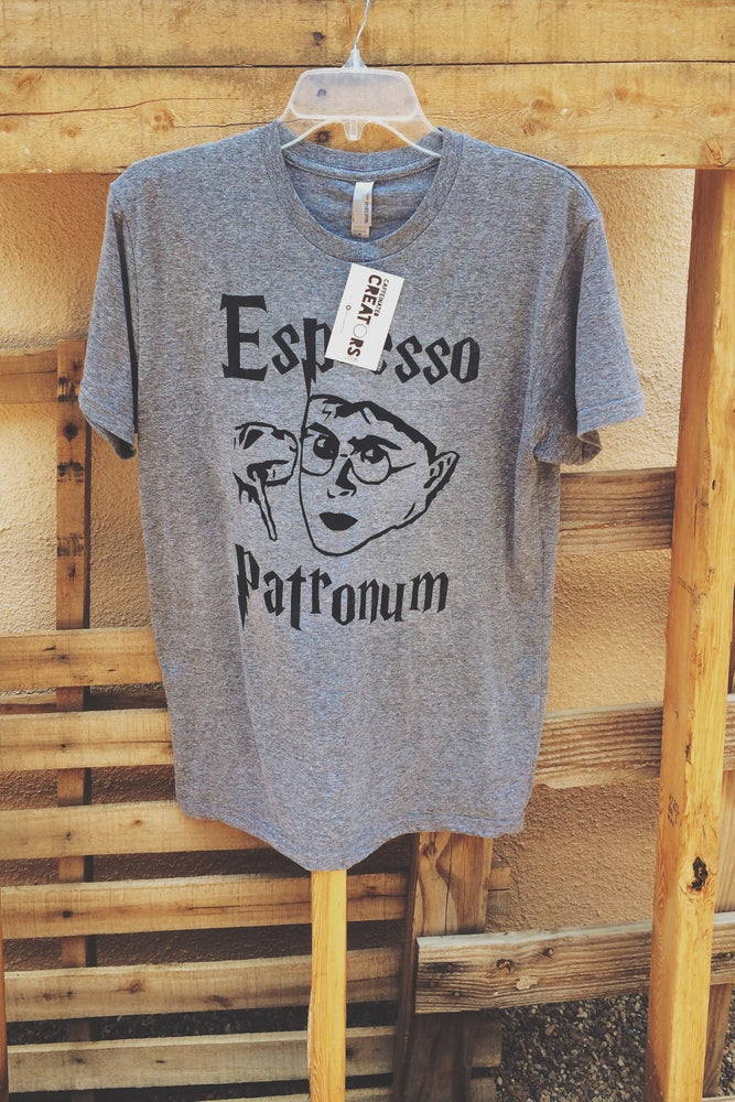 "Image of Harry Potter Inspired ""Espresso Patronum"" Tee"
