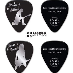 Image of Limited Edition Bass Induction Ceremony bass picks