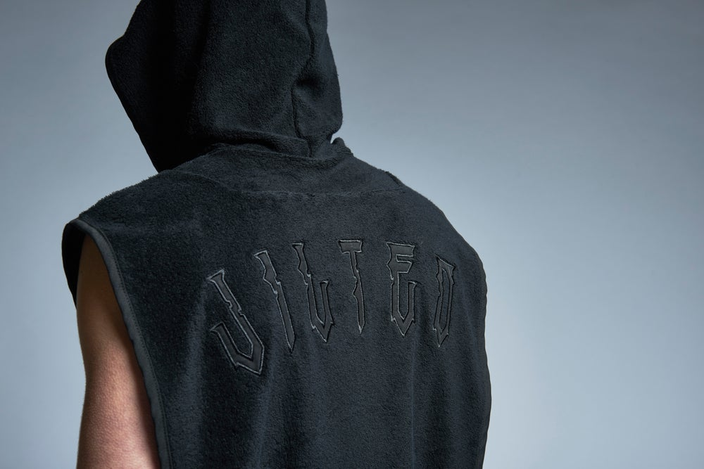 Image of THROW THE TOWELLING hoodie