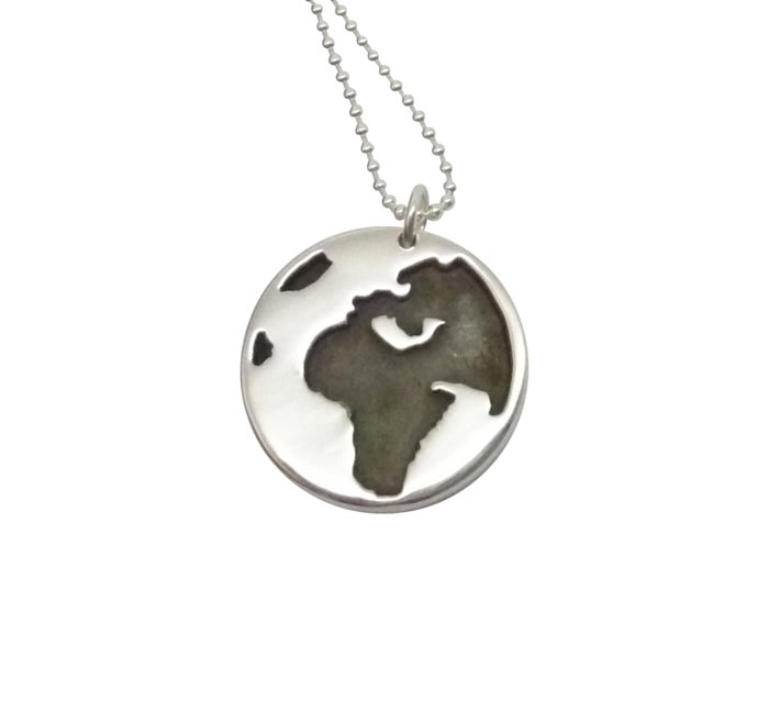 Image of GLOBE Pendant Necklace