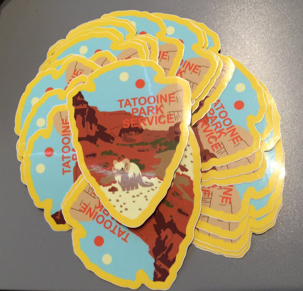 Image of Tatooine Park Service Series #3 Sticker