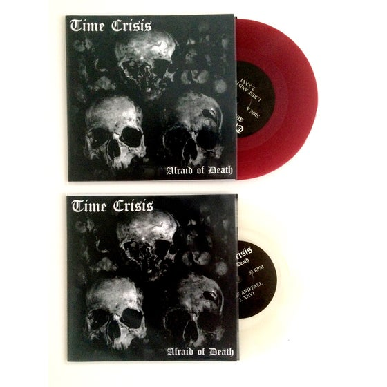 "Image of 'Afraid Of Death' 7"" Record"