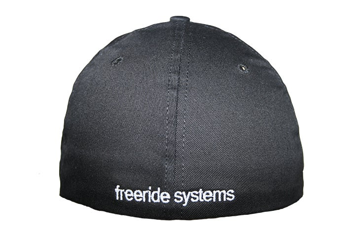 Image of Big Logo Freeride Systems Flexfit Style Solid Back Cap