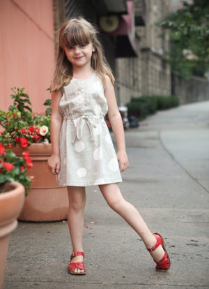 Image of MINI SOUTHPORT DRESS (PDF)