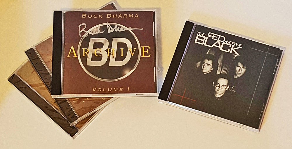 Image of Buck Dharma Archives Volume 1,2 & 3 + The Red and the Black CD - autographed !