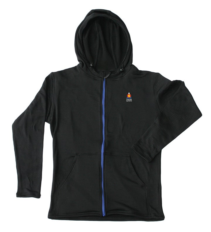 Image of Bross Casual Fleece Hoodie from Polartec R1 Fabric