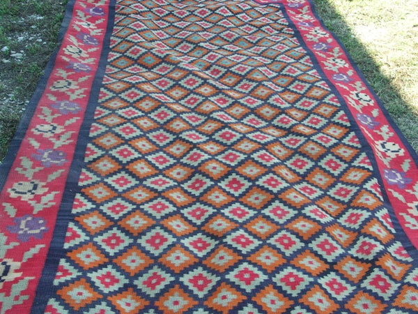 Image of Qashgai Kilim Gallery Runner