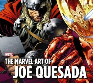 Image of The Marvel Art of Joe Quesada