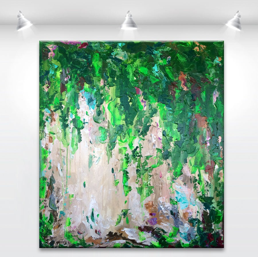 Image of 'Pine forest air' - 80 x 90cm