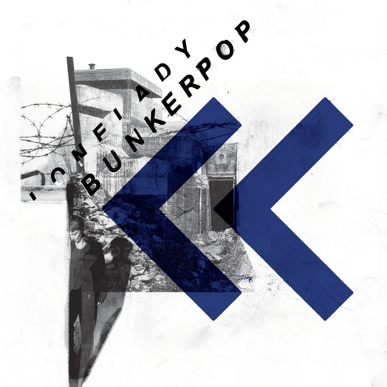"Image of SOLD OUT! BUNKERPOP 12"" 3-track single feat. Wrangler remix"