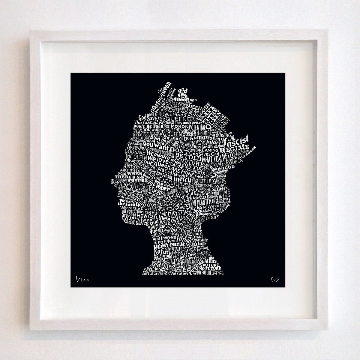 Image of God Save The Queen (Black)