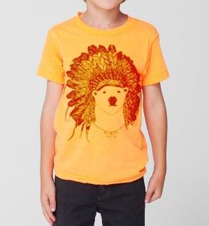 Image of Kids - Polar Bear Tshirt