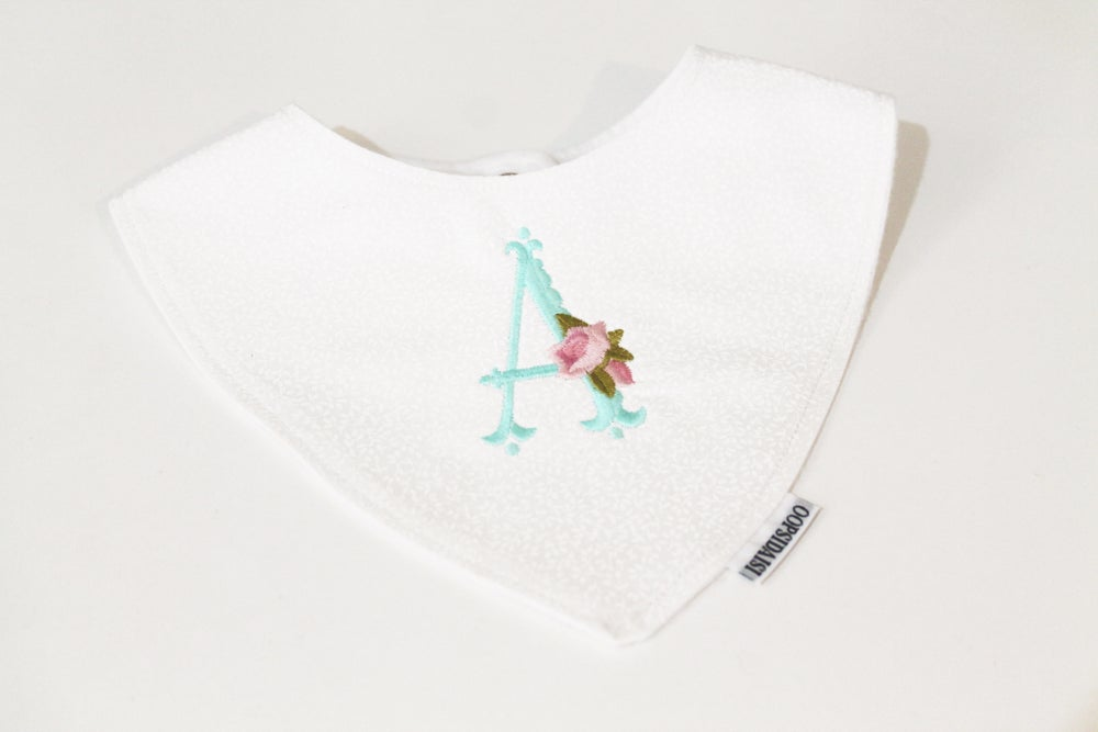 Image of Shabby Chic Personalised Bandana Bib