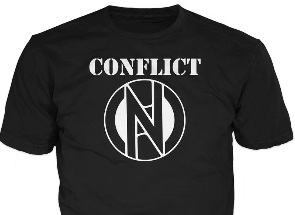 Image of Conflict logo T-Shirt