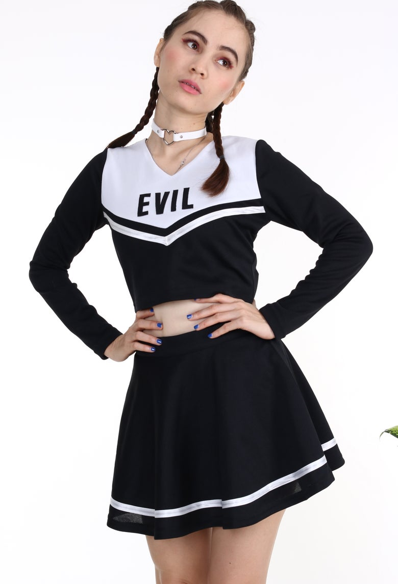 Image of Team Evil Cheerleading Set