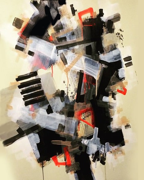 Image of Abstract Paper RWB 001