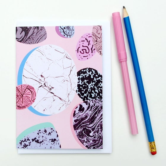 Image of Special Eggs Greetings Cards (Powder Pink)