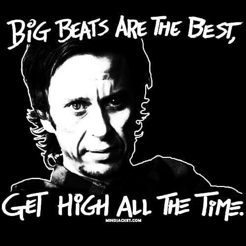 Image of The Big Beat Manifesto shirt (Super Hans)