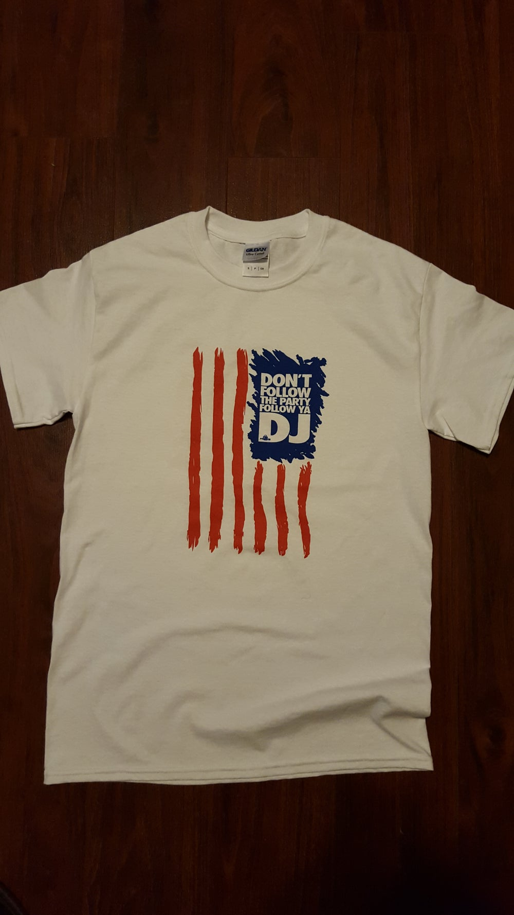 Image of The Nation Edition Womens Tee - Red, White, & Blue