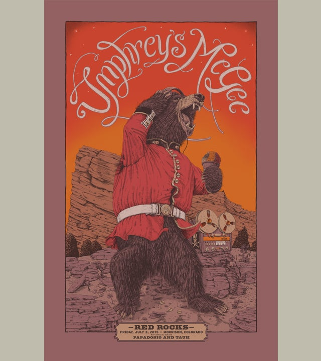 Image of Umphrey's McGee Red Rocks 15- VARIANT