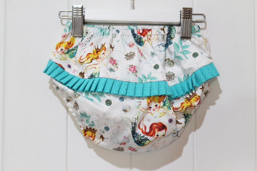 Image of Vintage Mermaid Ruffle Bloomers