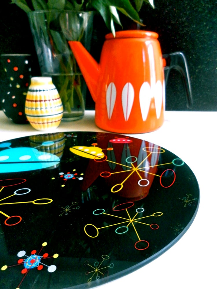 Image of SPACERETRO GLASS WORKTOP SAVER OR PLATTER