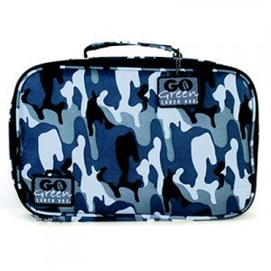 Image of Go Green Lunch Box Set - Blue Camo