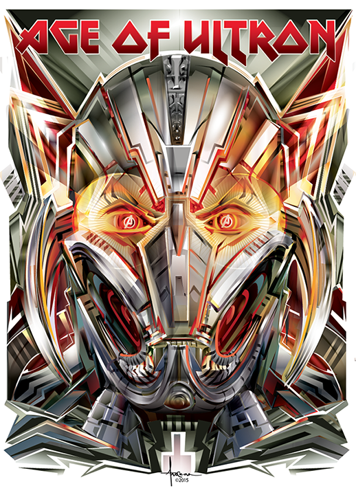 Image of AGE of ULTRON 18x24 Edition: 25