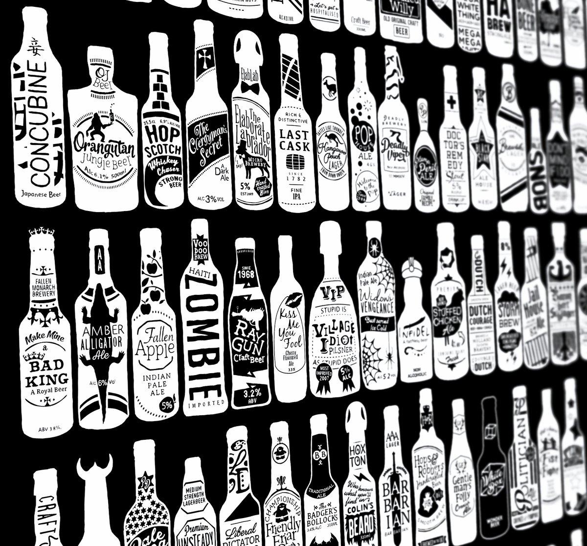 Image of 99 Bottles (Black)