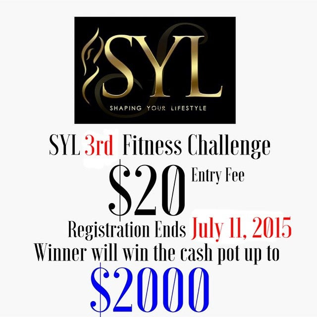 Image of SYL Fitness Challenge #3