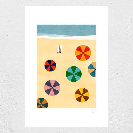 Image of La Playa Print