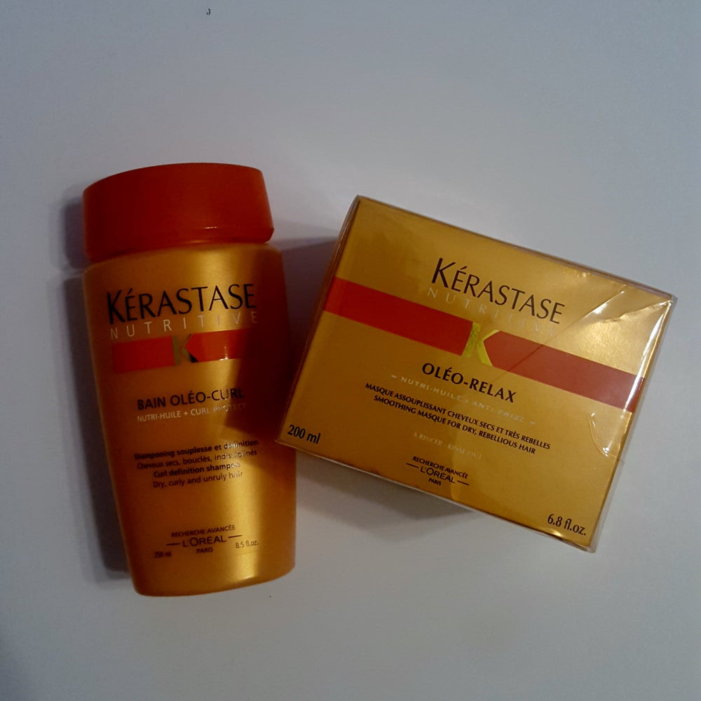 Image of Kerastase Bain Oleo Shampoo & Deep Conditioning Masque