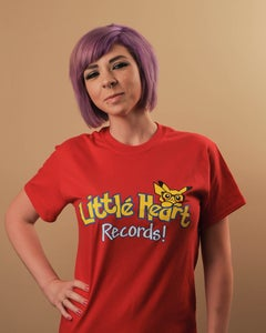 Image of Little Heart Records T-Shirt: Gotta Catch 'Em All