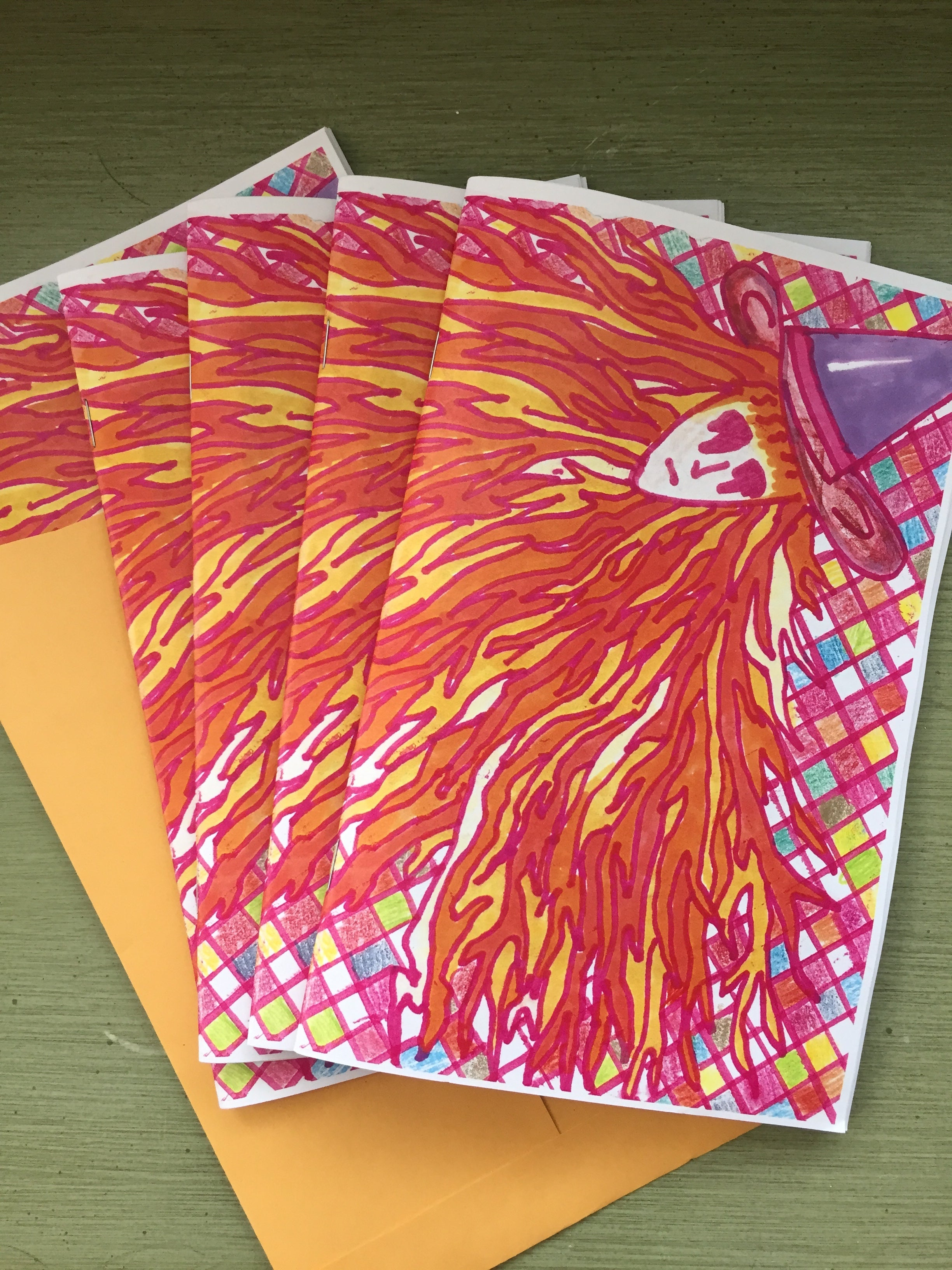 Re-Issue Zine! Circa 2009! BACK FROM THE PRESS