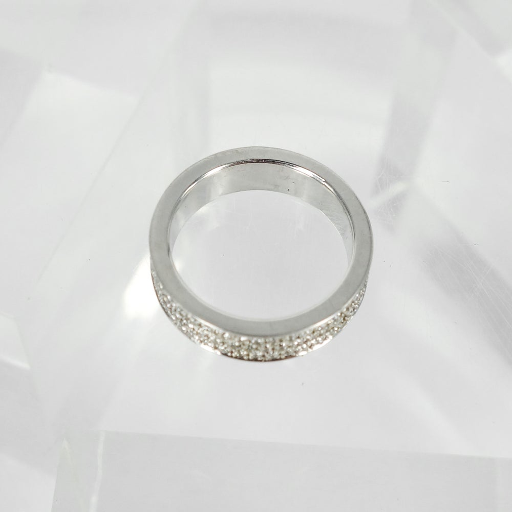Image of PJ4664 18ct white gold Pave dress ring