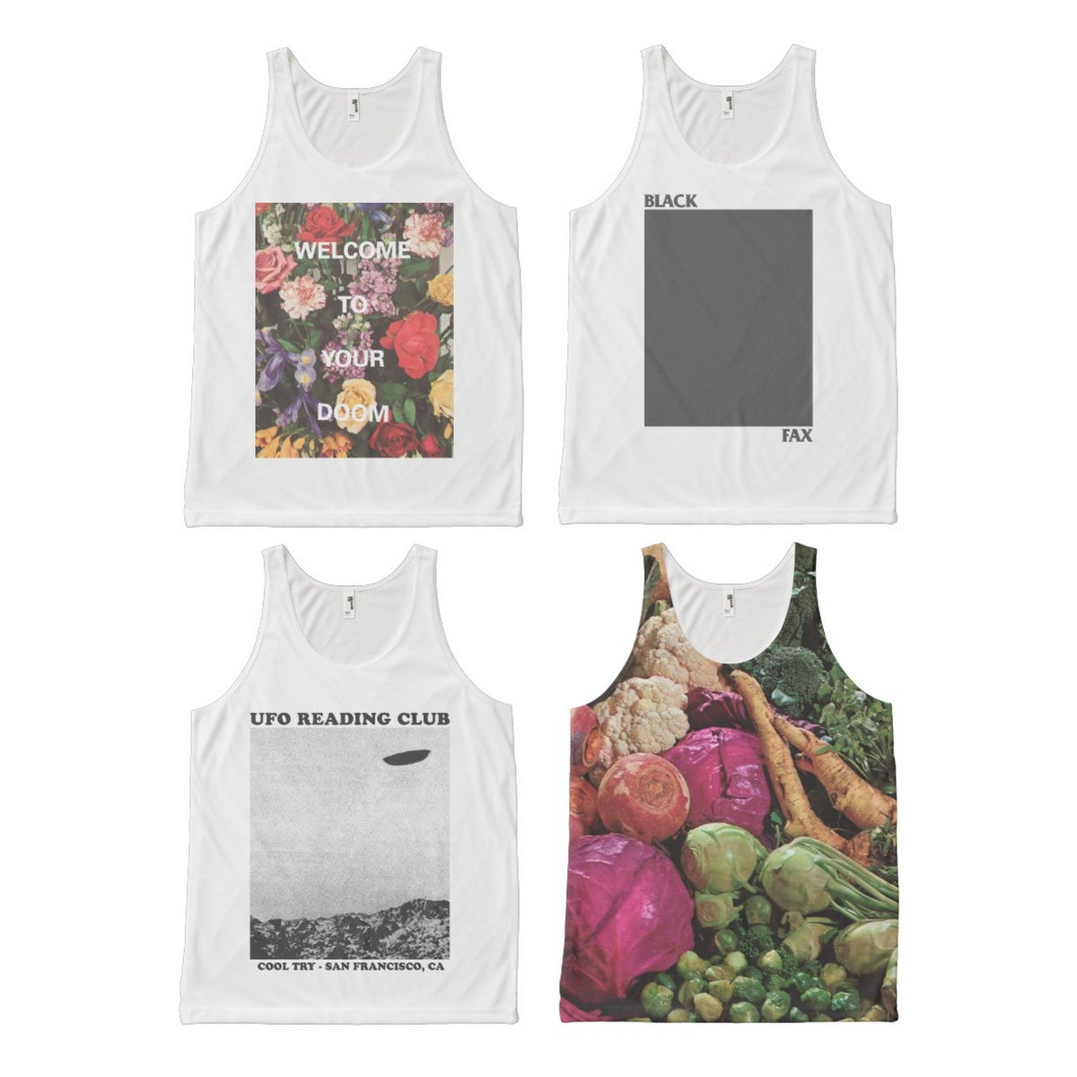 Image of Cool Try ™ Unisex Tanks (4 designs available)