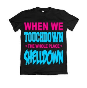 "Image of Men & Women ""When We Touchdown"" T-Shirt - Various Colors"