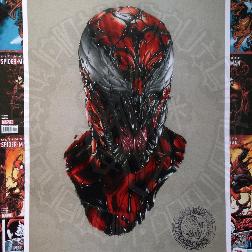 Image of Limited edition carnage comic print