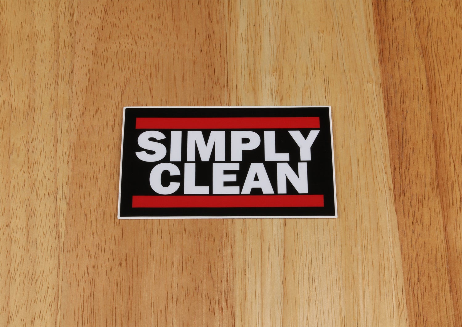 Image of Simply Clean Run Sticker