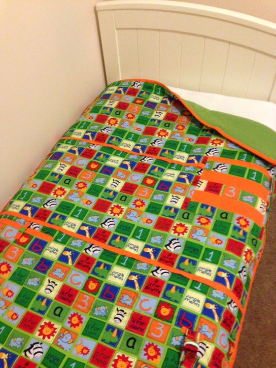 Image of Jungle quilt