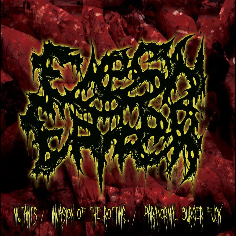 Image of Flesh Eater - Mutants/Invasion of the Rotting... / Paranormal Burger Fuck