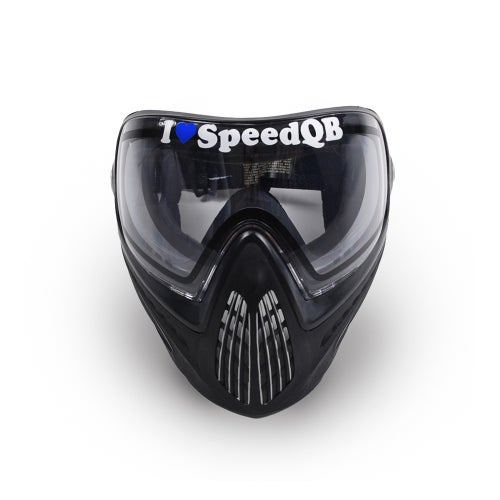 Image of I Love SpeedQB Decal - Independence Blue (2)