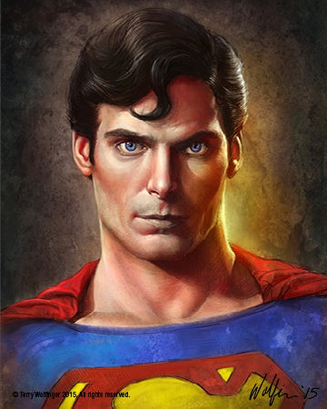 Image of Christopher Reeve Superman