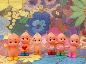Image of 5cm Baby Kewpies & baby kewpie shoes!