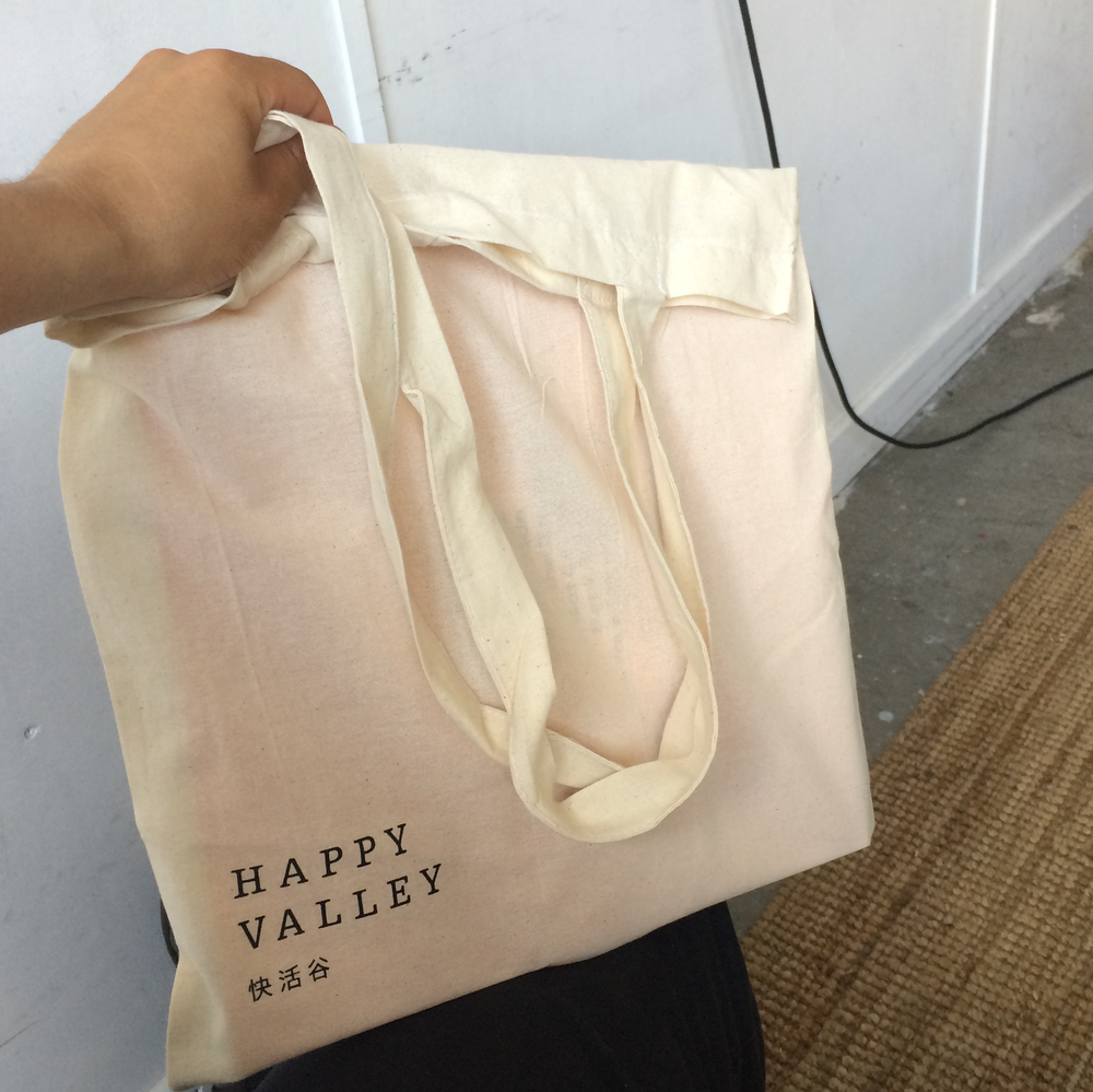 Image of Happy Valley Tote Bag