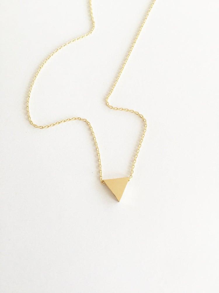 Image of Triangle Necklace